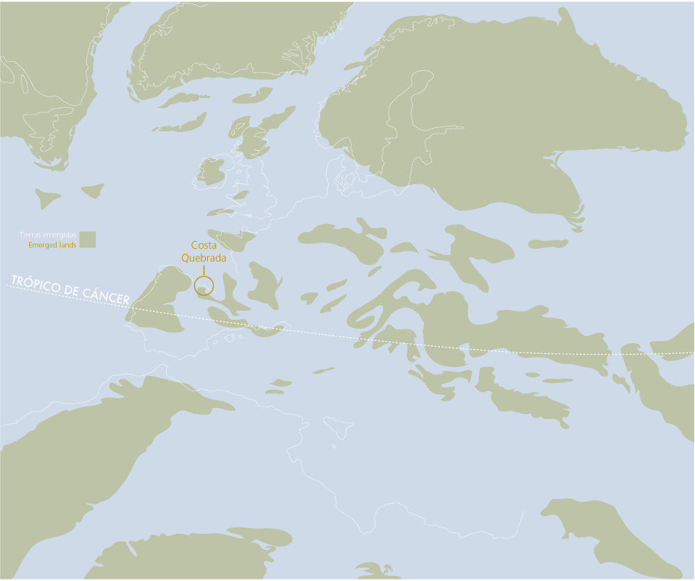 Europe during the Aptian stage